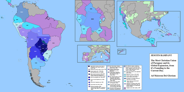 Holy Paraguay by QuantumBranching