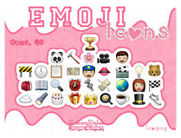 Emoji Iconos By SammyStyles by sammystyles