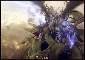 :: battle of gods by randis