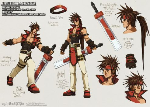 Battle Rehime | Sol Badguy by sphelon8565
