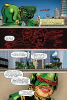 UltraVixen Mega-Con Preview book page 3 by MaelstromMediaComics