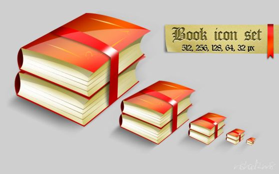 Book icon set by nishad2m8