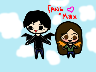 Max and Fang by Bluegrove6