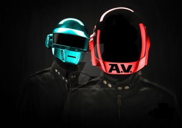 Daft Punk color replacements by NightmareoTwilight