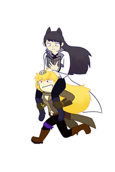 Blake and Yang by ZeDerpyCat