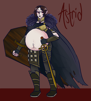 Astrid-Commission by SlickPens
