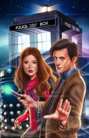 DR WHO by DyanaWang