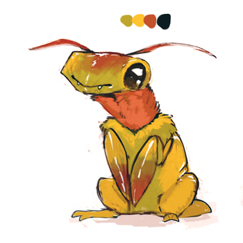 bug boy adopt CLOSED by Limecrumble