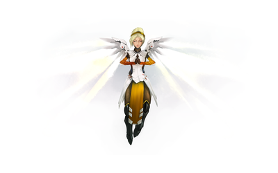 Overwatch - Mercy by alextiama