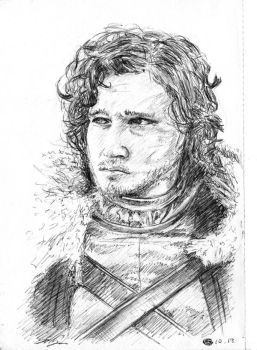 Jon Snow by grote-design