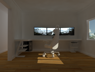 Gaming Room by MaximusKPrime