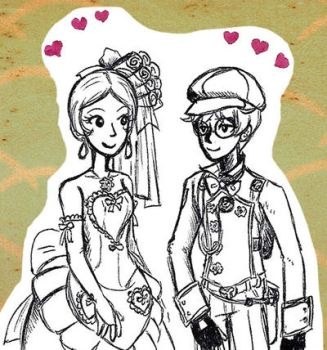 Sprocket couple by sweet-suzume