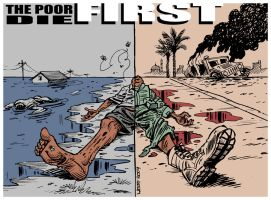 The poor die FIRST by Latuff2