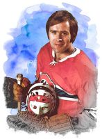 Ken Dryden by wooden-horse