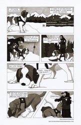 Whiskey The Avalanche Dog Comic - Page 1 by WildSpiritWolf