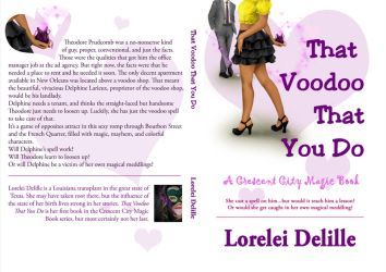 Book Cover - That Voodoo That You Do by LeeAnneKortus