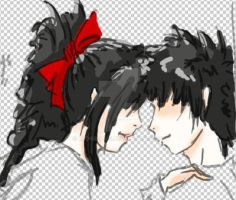 I'm feeling you W.I.P by redgreave