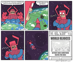 The Galactus Groove by JollyBiscuit