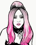 Pink Gaga by MissCreepers