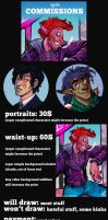 Commission info - may 2017 by iisjah