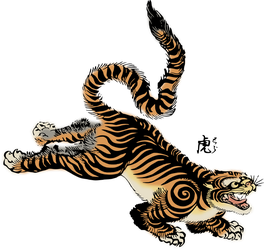 Clipart Tiger by hansendo