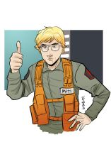 Matt The Radar Technician by Supajoe