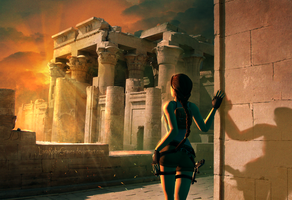 Tomb Raider - Egypt Arrival by LaraRobsGraves