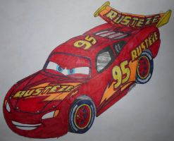Cars 3: Next-Generation Lightning McQueen 2.0 by sgtjack2016