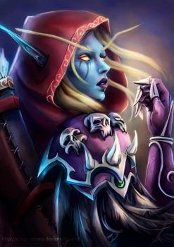 Sylvanas - World of Warcraft by DragonsTrace