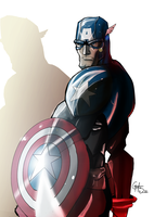 Captain America by theSadSon