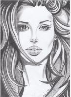 Angelina Jolie by NoorAl-h