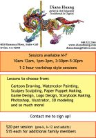 Art Classes Flier Updated by Diana-Huang