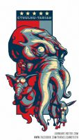 Cthulhu for President by TentaclesandTeeth