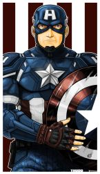 Captain America Icon by Thuddleston
