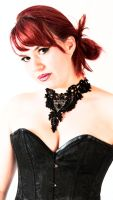 Red hair and corsets by BikeBoyPunk