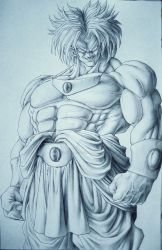 Broly by TicoDrawing