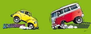 VW Beetle and Combi by NuBus