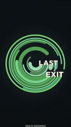 Last Exit iPhone Wallpaper by fudgegraphics