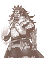 Demon King: Ganondorf by HolyLilium