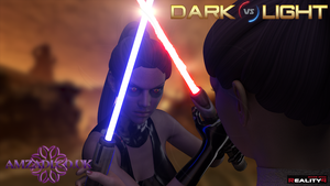 Dark vs Light (Solje 001 Close up) by Amzadi