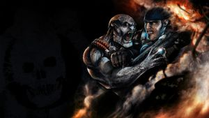 Wallpaper Gears of War by Kubaboom