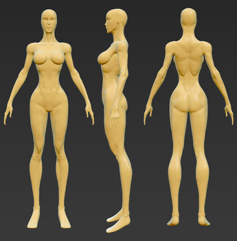 SB:A Base-Sculpt WIP1 by echerry93