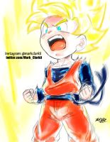 Goten Super Saiyan by Mark-Clark-II