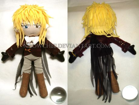 Jareth Plush - Outfit 2 by Meowchee