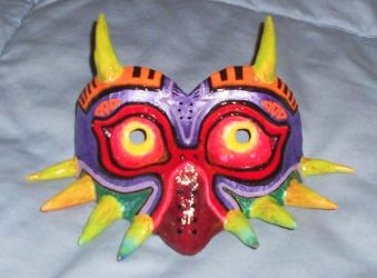 Majoras Mask by Leucrota