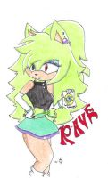 :RQ: Rave the Hedgehog (Clearer Version) by Calousa