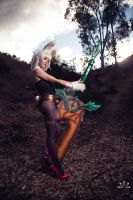 Battle Bunny Riven - Crazy for Carrots by ZerinaX
