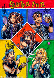 We are Sabaton! by the-ChooK