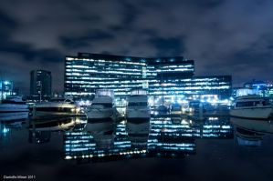 Blue City Reflections by daniellepowell82