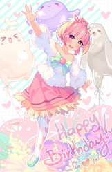 Collab Gift - Happy Bday to the most sweet peach by Hyanna-Natsu